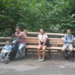 Neel Lab members at Bronx Zoo