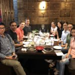 Neel Lab dinner in Chinatown NYC
