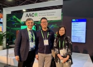 Ben Neel and Shengqing Gu at AACR 2019
